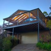 Colorbond Pergola and Deck